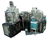 Cluster System equipped with ICP-CVD, CCP CVD & RIE, E-Beam Evaporator, Sputter Modules(Cluster Lab 150-S1)