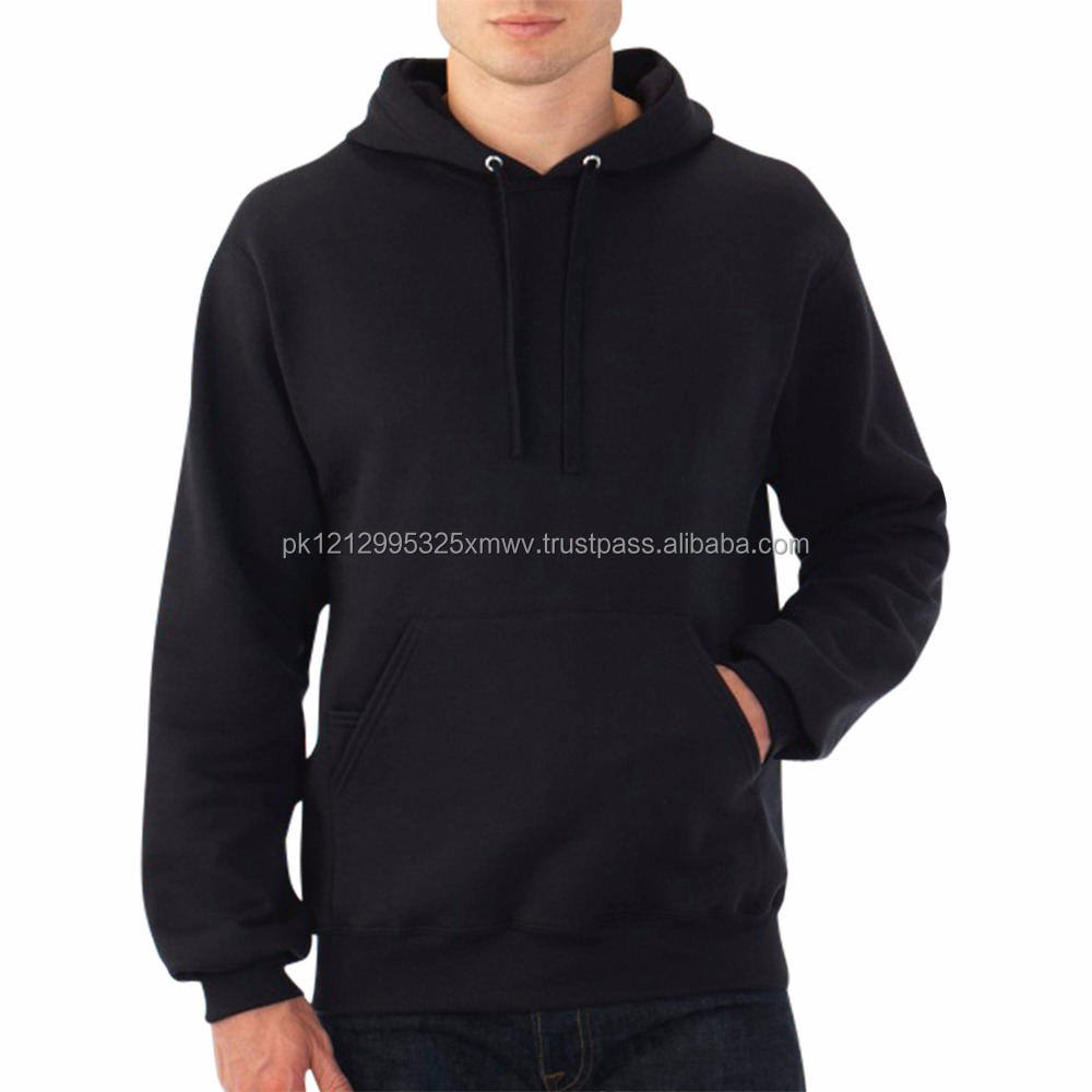 Custom Pattern Zipper Pocket Fit High Quality 100% Polyester Men's Hoodie