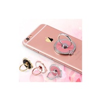 Metal Ring Holder for smartphone,360 Degree Rotation Stand holder with Diamond for phone, tablet etc.