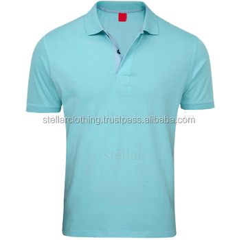 Men cotton polo t-shirt