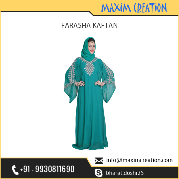 Modern Phirozy Farasha Kaftan for Women and Girls Available at Best Selling Price