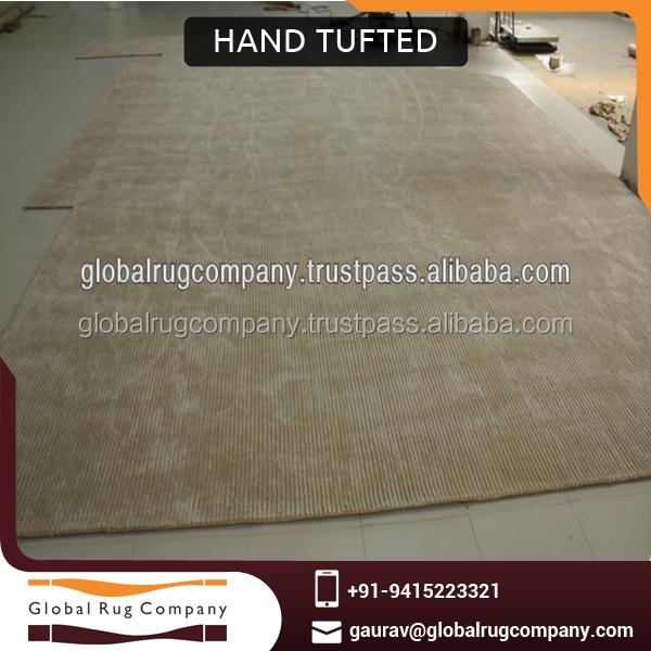 Handgetufte wol en viscose tapijt of tapijt geschikt voor hoge end hotels tapijt product id - Eigentijdse high end tapijten ...