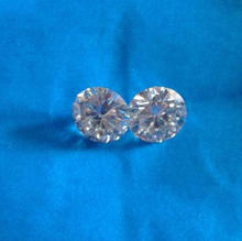 High Quality Colorless White CVD Diamonds: HPHT Synthetic diamond Lot Sale