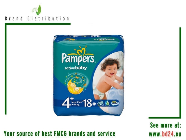 PAMPERS 18PCS Maxi S4 Diapers FMCG