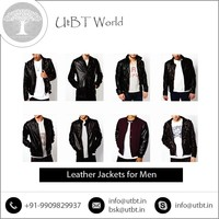 Wide Collection of Leather Jackets for Men from Trusted Manufacturer