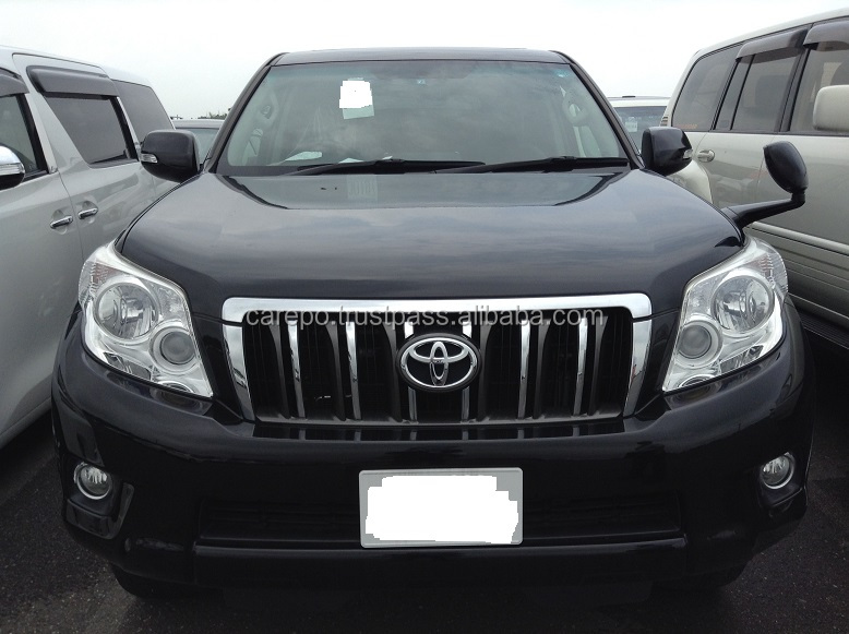 SECOND HAND CARS FOR SALE FOR TOYOTA LAND CRUISER PRADO TX TRJ150W EXPORT FROM JAPAN