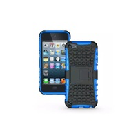Detachable 2 in 1 PC+TPU Hybrid Kickstand Case for iPod Touch 5 , Tough Tyre Sports Case for ipod touch 6
