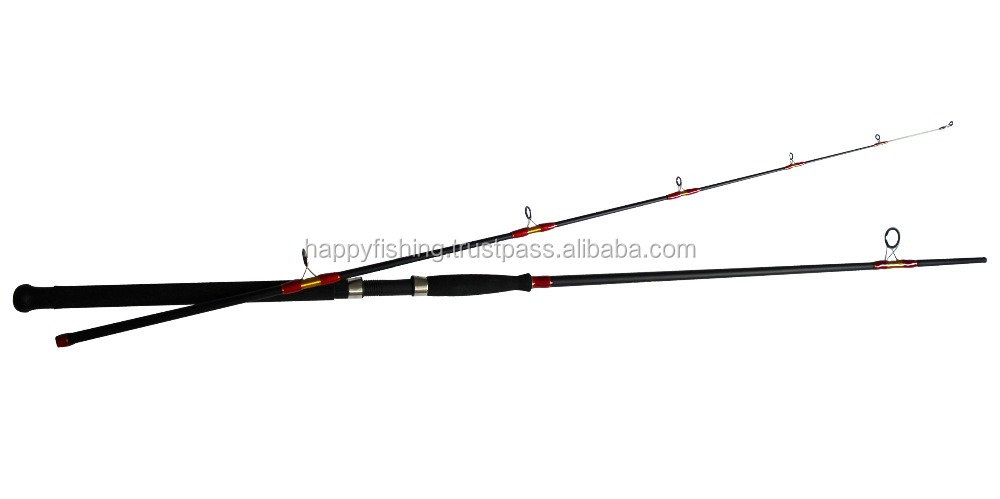Hi-TECH FIBER Fishing Rod 3M Section2