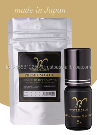 Reliable fast drying eyelash extension glue for beauty salon