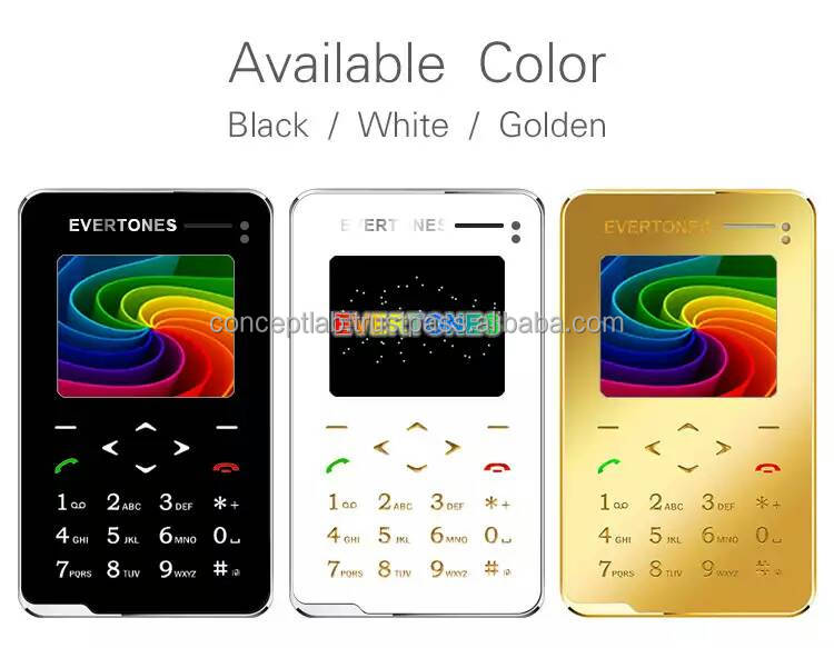 2015 Unlocked Thinnest Small Bar phone Bluetooth mp3 FM 6.9mm Ultrathin card Mini cell mobile phones V5