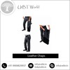 Water Resistant Trendy Look Mens Leather Chaps for Sale