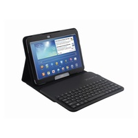 Wholesale Black Removable Bluetooth Keyboard + Leather Case Stand for Samsung Galaxy Tab 3 10.1 P5200 P5210 P5220