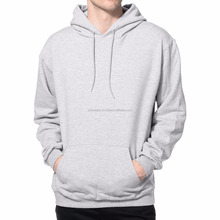 Mens Fashion Clothes Grey Sports Sweat Hoodies pullover hoodies