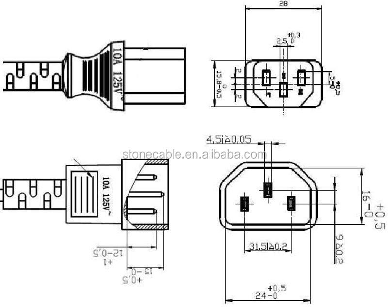 universal plug ue ac cabo de alimenta u00e7 u00e3o para computador    tela