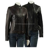2015 high fashion real leather clothing newly leather jackets