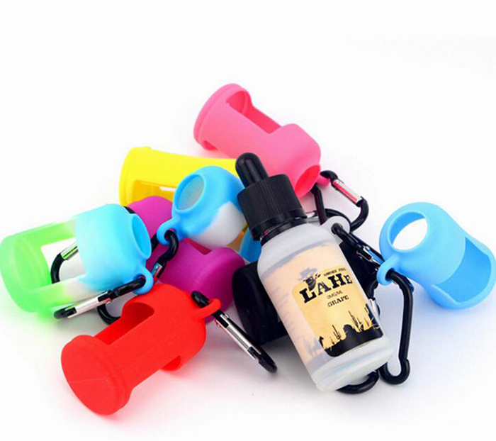 Silicone Case Protective For 30ml Bottle E Liquid Juice Vape with Hook Holder