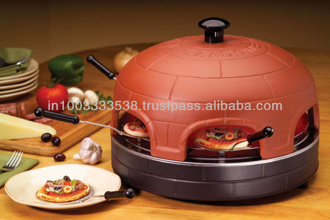 Portable PizzaDome - Portable Italian Brick Pizza Oven 4 Person
