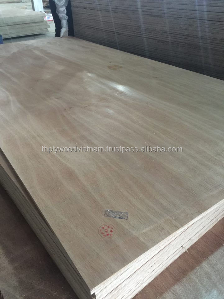 Vietnam high quality Grade AB BC Packing Plywood cheap price sheet