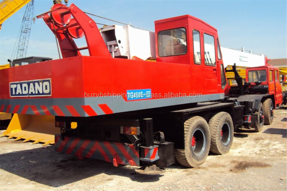 Used tadano mobile crane 45ton 100ton 120ton for sale! original from japan, lowest price!