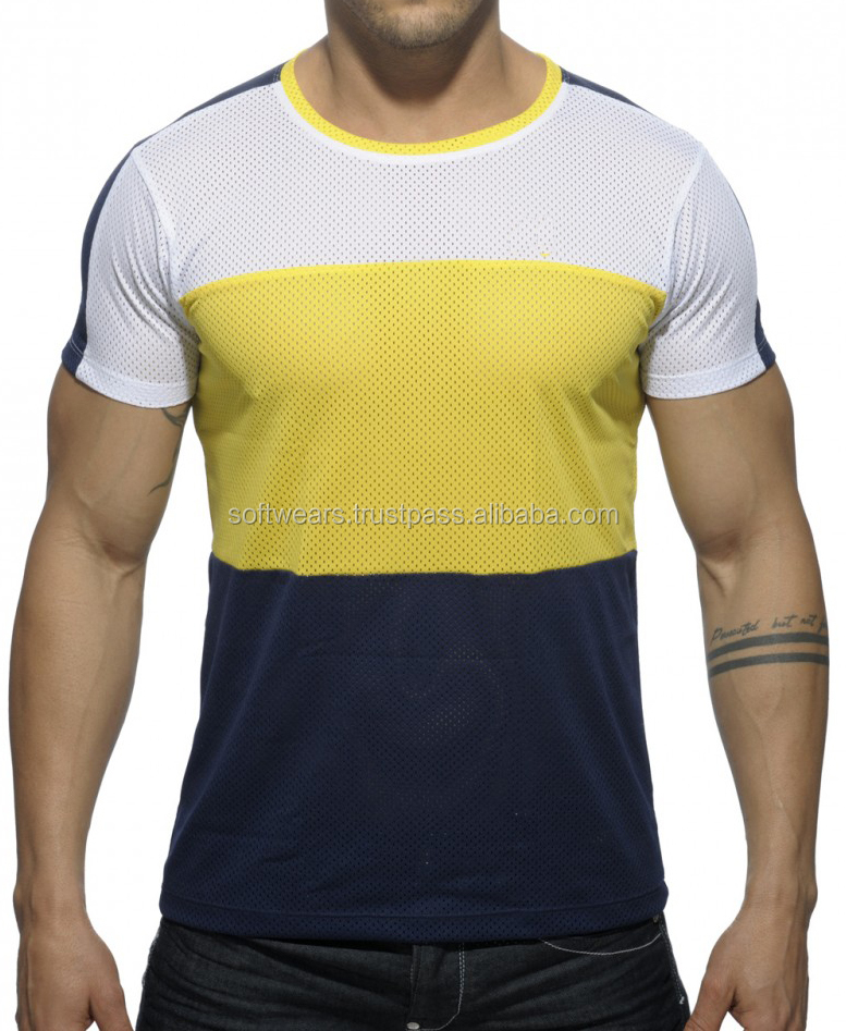Special polyester training mesh T-shirts ,t-shirt Gents Dress