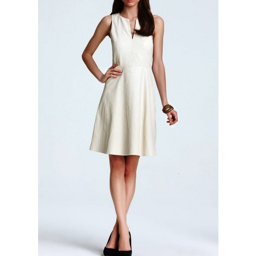 white color leather dress /leather hot wear/stylish leather women wearing