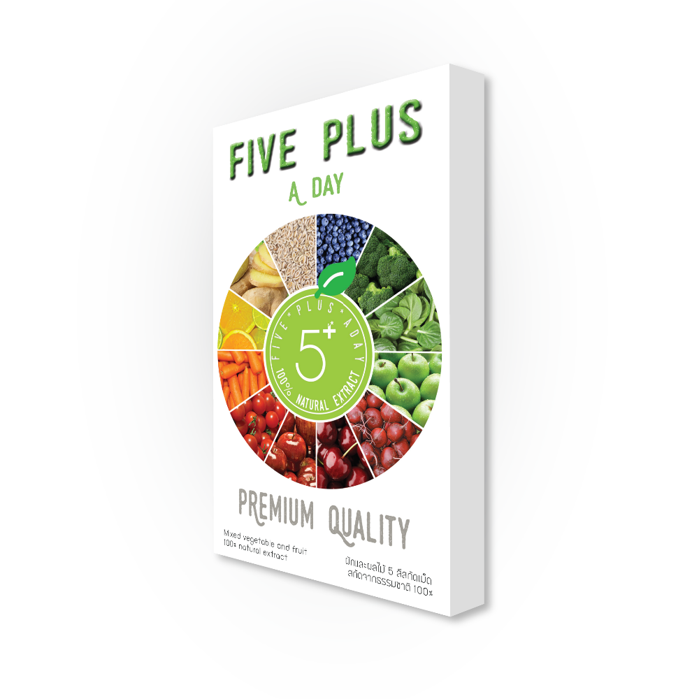Five Plus Premium Quality Natural Fruit and Vegetables Healthcare Dietary Supplement