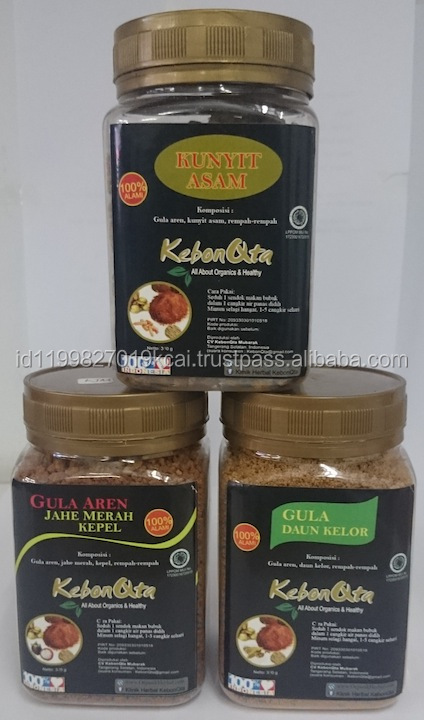 Arenga Sugar with Various Flavour
