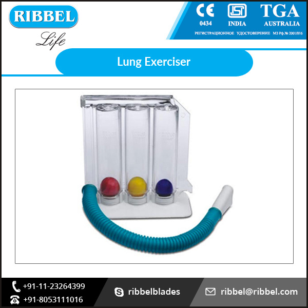 High Quality Medical Three Ball Incentive Spirometer at Low Market Price