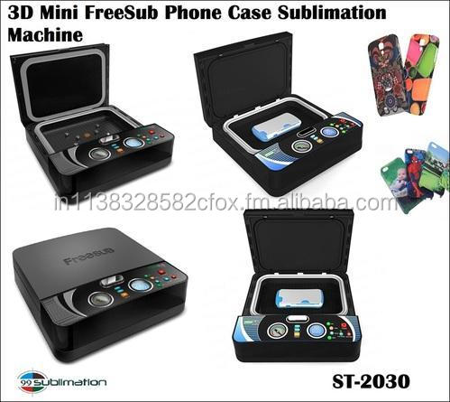 3D Mini Free Sub Mobile Case Sublimation Printing Machine