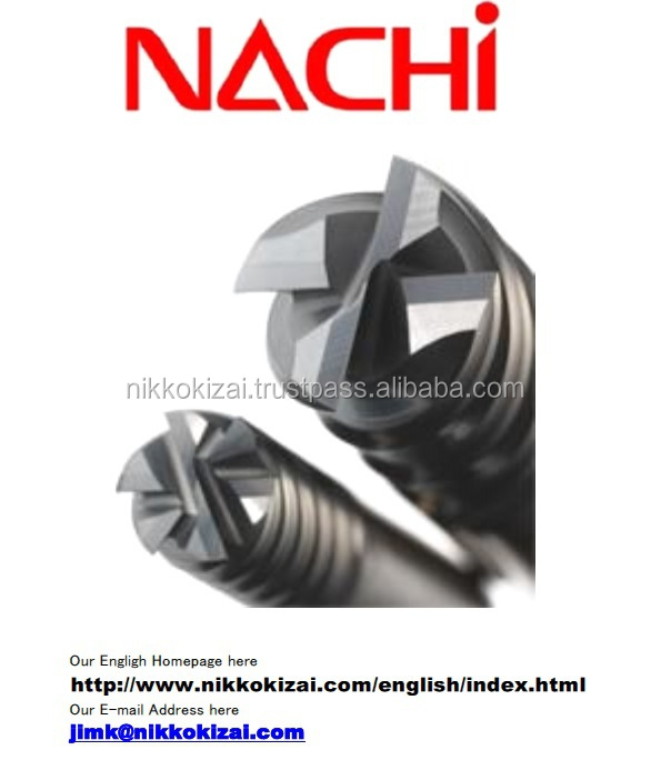 Excellent quality end mills and drills for Nachi for mold for car accessory with long life at good price on alibaba com