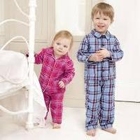 New Arrival Designer Stylish Standard Long Sleeve Xmas Cotton Stripe Night Wear Outfits Christmas Winter Pajamas Suit For Kids