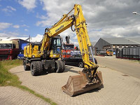 USED MACHINERIES - KOMATSU PW 140-7 WHEEL EXCAVATOR (5799)
