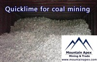 quicklime for coal mining