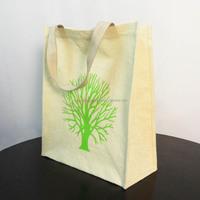 Lamination/Aluminium foil of Jute Shopping /Tote/Packing/Beach/Hobo Bag