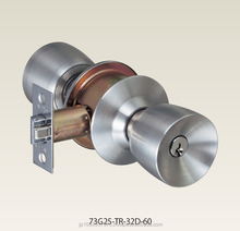Japanese high security and qualtiy Knob set for front door lock