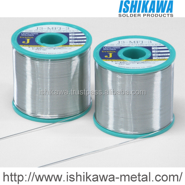 High quality flux cored solder wire with low splattering for PCB assembly service
