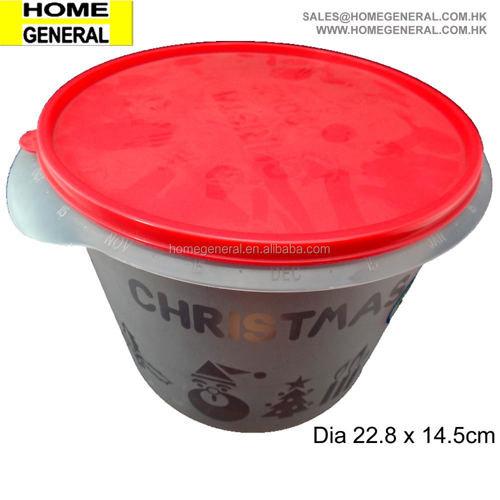 ROUND BUCKET WITH LID