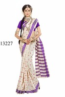 Banarasi silk fastival wear saree