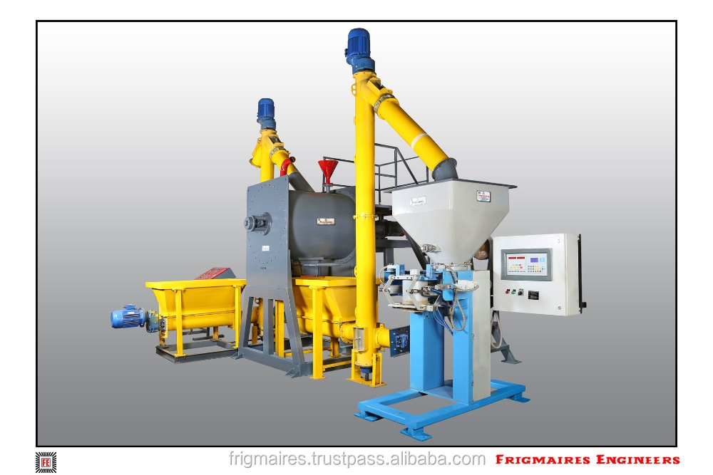Dry Mix Mortar Mfg Plant from India