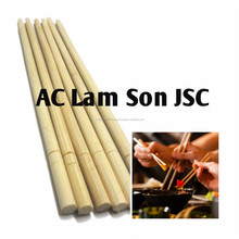 Vietnam Export Eco-Friendly Disposable Round Bamboo Chopstick For Sushi