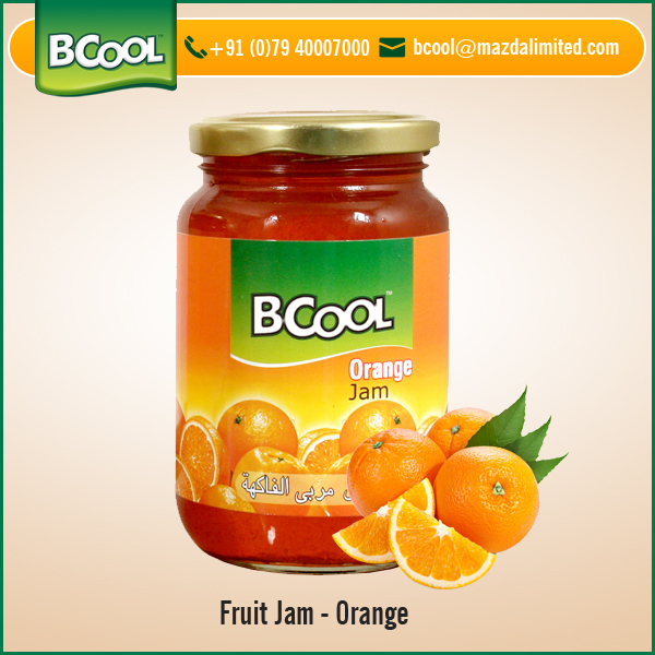 2017 Best Selling Orange Fruit Jam Available for Export Purchase