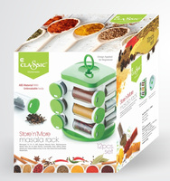 New Design Plastic Portable Kitchen Spice Rack