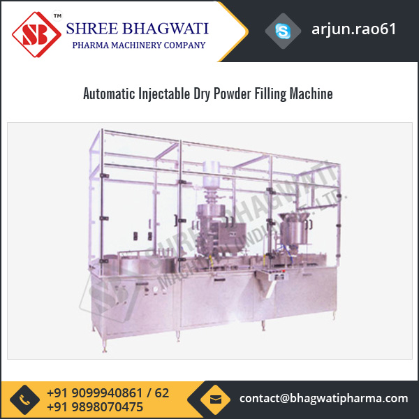 Automatic Injectable Dry Powder Filling Machine Manufacturer
