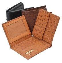 Genuine Ostrich Leather Men's Wallet