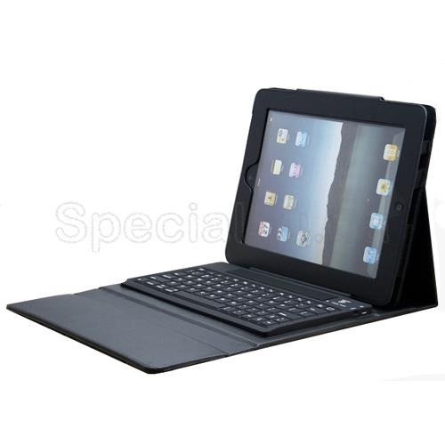 Keyboard Leather Case for iPad2, NewiPad