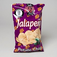 POTATO CHIPS JALAPENO 4.25 OZ IN PDQ #0803