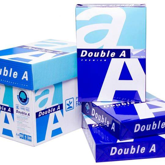 Manufacturer factory of A4 A3 B5 copy paper 80gsm same with Double A