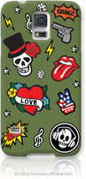 FOWN Wapen Skull Khaki Case for Galaxy S5 - Authentic Korean Product