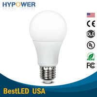 E26 8W 3000K Dimmable Warm White LED Light Bulb for Home Use