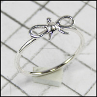 Simple Stylish 925 Sterling Silver Ring Jewelry For Girls/Women